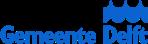 Het logo van gemeente Delft